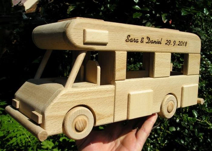 Karavany dřevěný dárek hračka