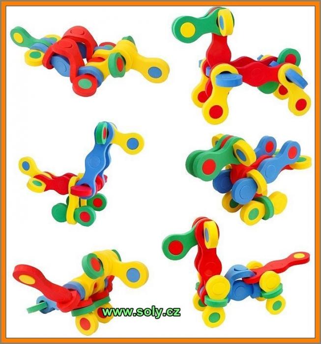 zviratka stavebnice hracky