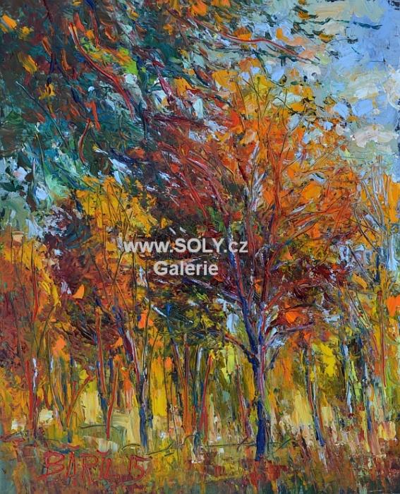 Originální obraz, olej na desce, 40x 50 cm, cena 7 500,-