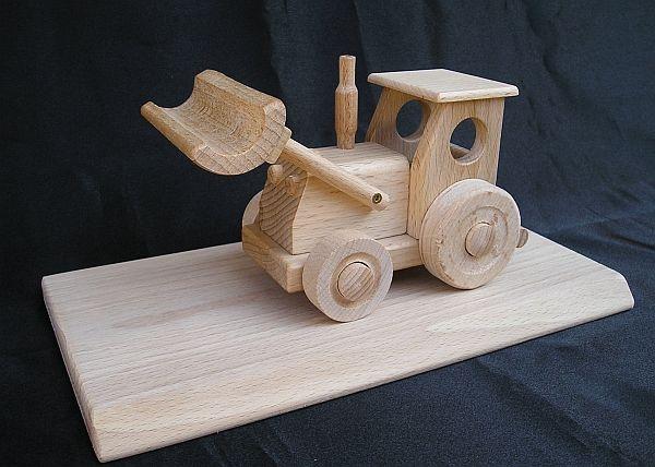 dřevěný Traktor hračka dárek pro řidiče, zemědělce