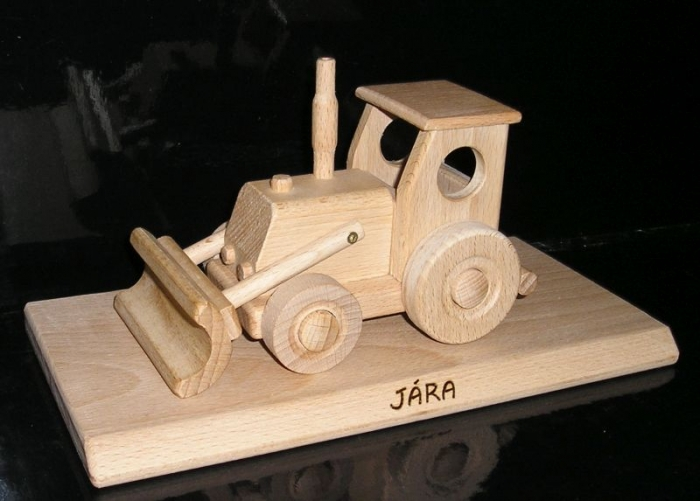 Traktor s radlicí nakladač dárek