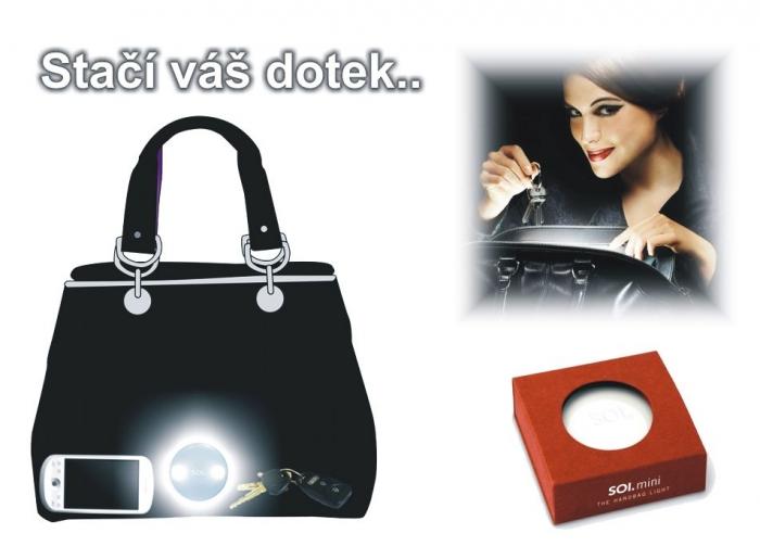 LED Inteligentní svítilna do tašky