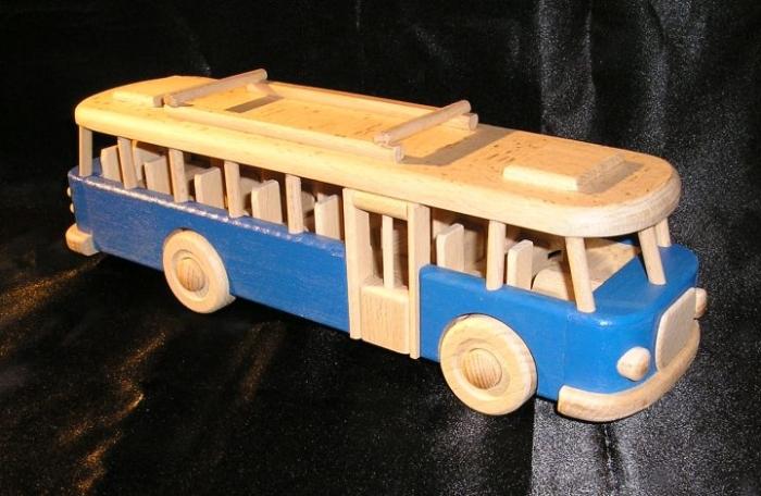 Autobus Škoda RTO hračka