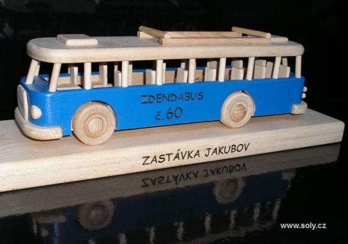 Dárky s potiskem textem autobus