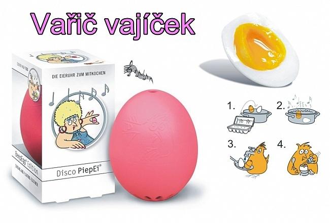 Vařič vajíček - chytrý přístroj
