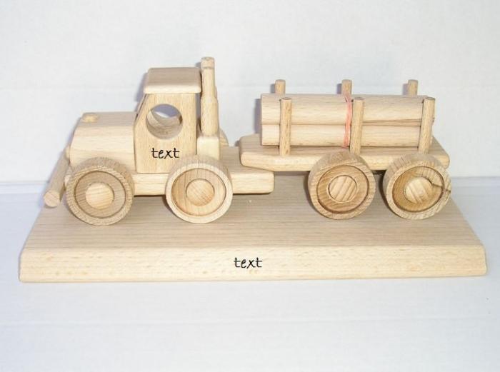 Lesní kamion hračky darky