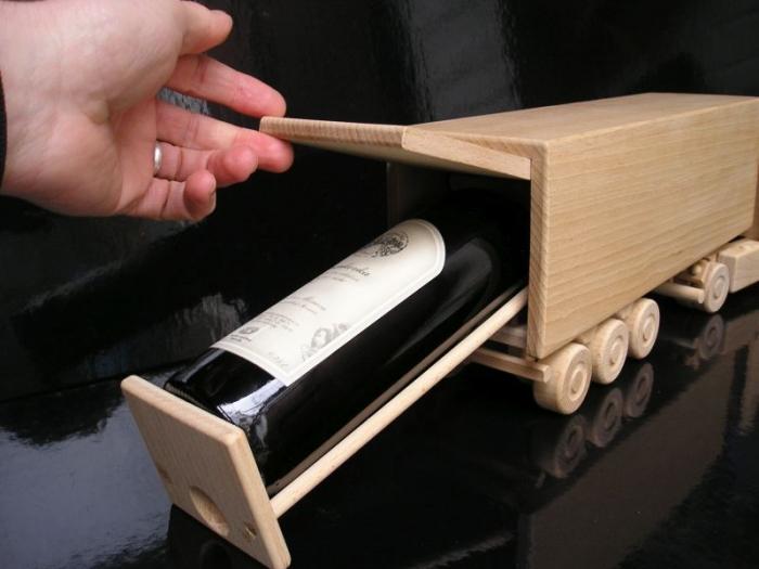 Dárek pro řidiče Vino kamion