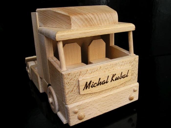 Kamion dárek pro řidiče kamionisty