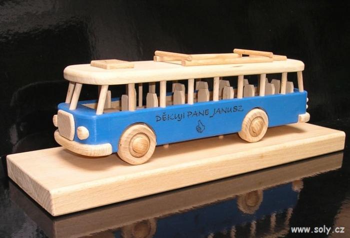 Autobus dárky pro dospělé