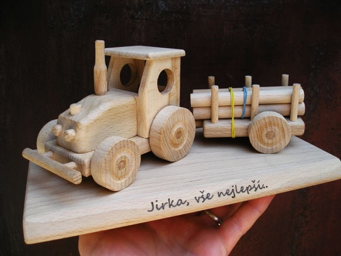 Dřevěné hračky