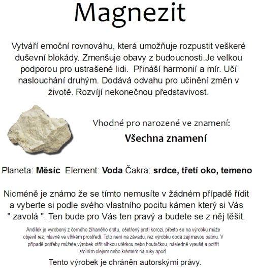 Znamení zvěrokruhu kámen Magnezit