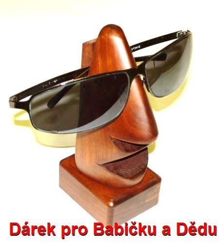 Stojan nos na brýle ze dřeva