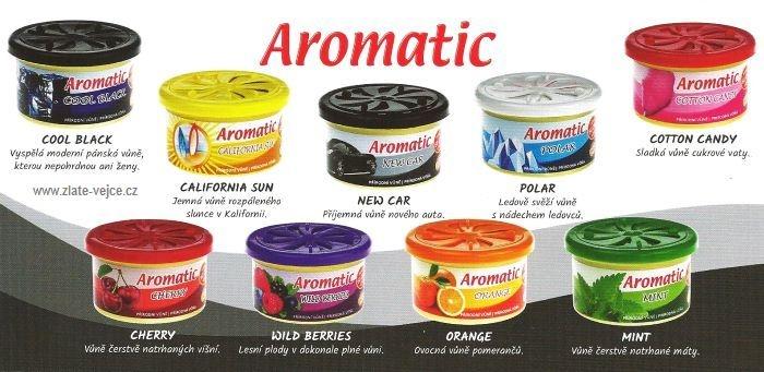 Přírodní vůně aromatic