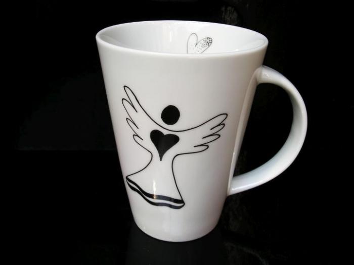 Porcelánové hrnky anděl