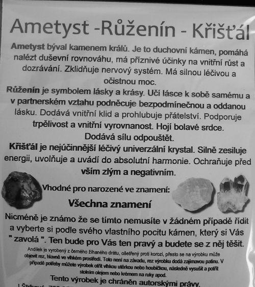 AMETYST-RŮŽENÍN-KŘIŠŤÁL
