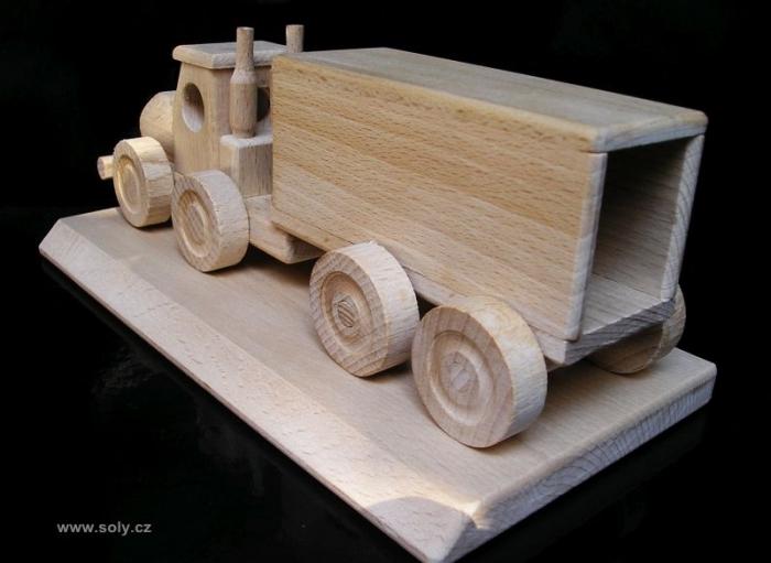 Kamion dárek pro šoféry