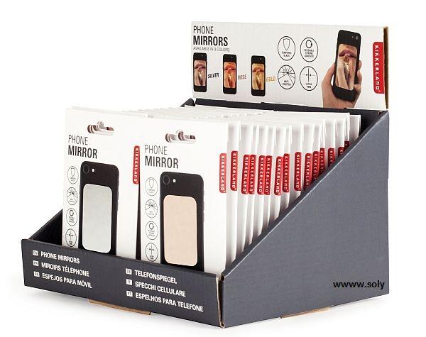 Kosmetické zrcátko na mobil