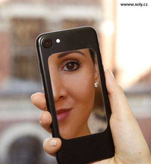 Kosmetické zrcátko na mobily do kabelky