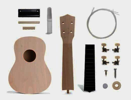 Stavebnice hrací nástroje Ukulele