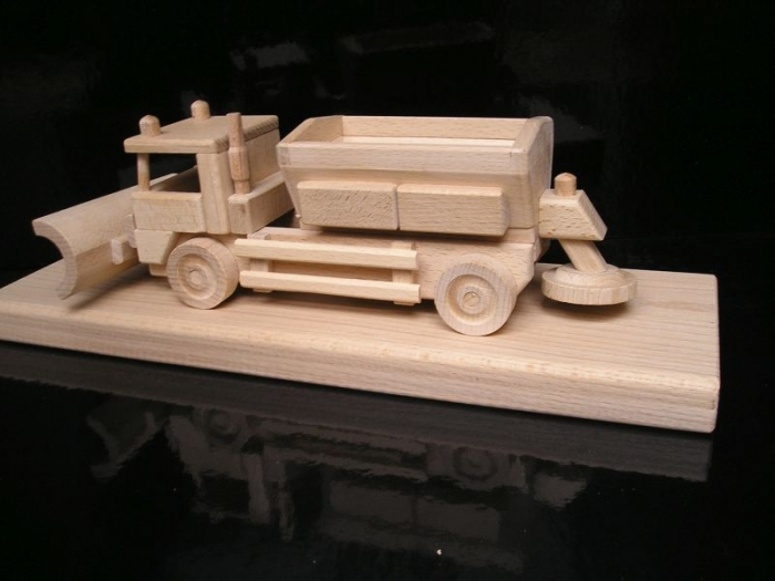 Sypače | sněžné pluhy dřevěné hračky | dárky pro řidiče