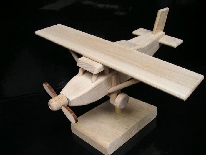 Pilatus letadlo dárek hračka model