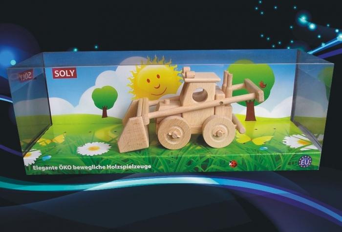 Buldozer hračka