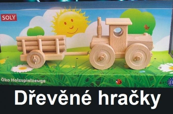 Lesní traktor hračky