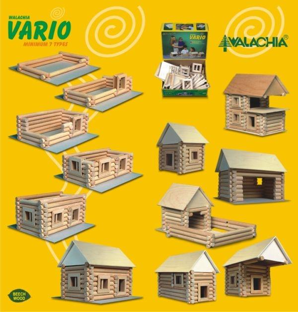 Dřevěné stavebnice hračka