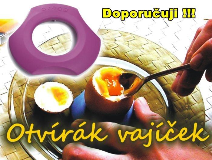 Vychytávka pro loupání vajec jednoduše