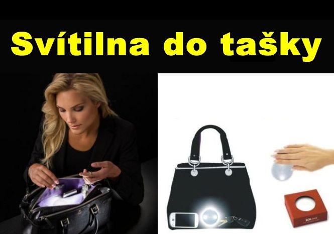 Svítílna pro dámské kabelky