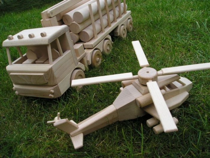Přepravník dřeva Man