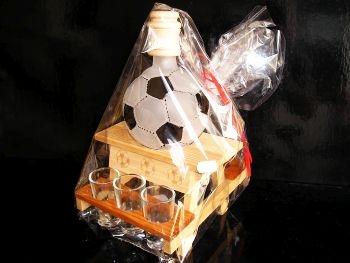 Dárkové láhve a sklo | fotbal kopaná