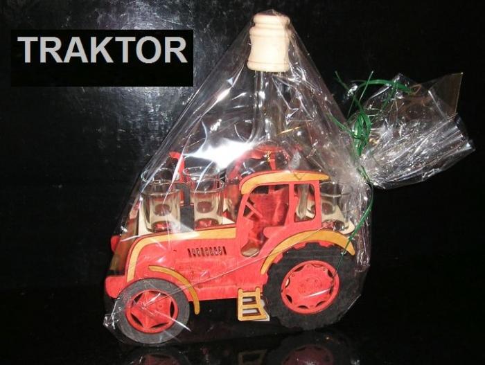 Dárkové láhve a sklo | traktorista