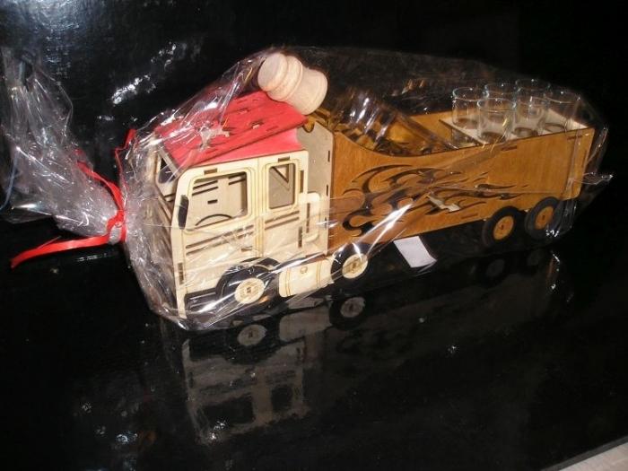Dárky pro kamionistu