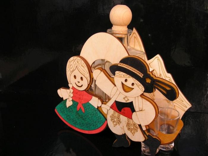 dárek, svatba, folklor, dárkový koš