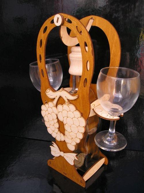 Dárkový koš na likér víno pro dámu ženu