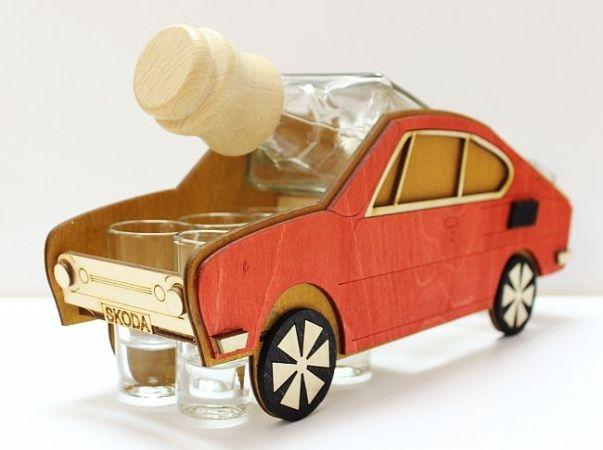 Dárkové sklo k narozeninám Škoda 110 R