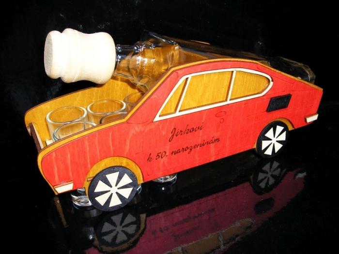 Dárková láhev Škoda 110 R, erko