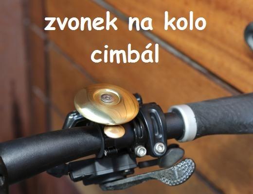 Zvonek na kolo CIMBÁL