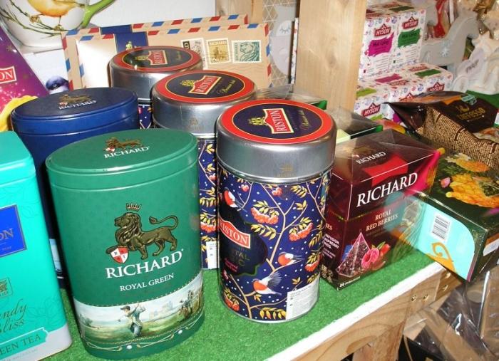 čajů RICHARD