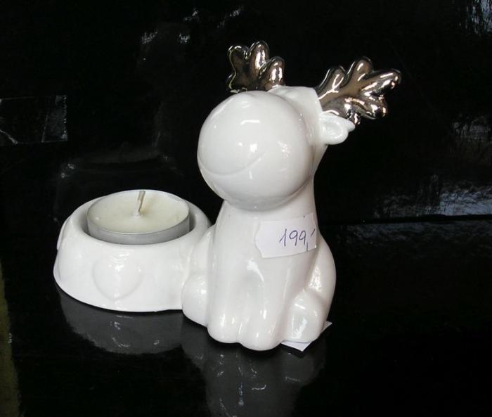 Dekorační svícen na svíčku SOB | vánoční dekorace