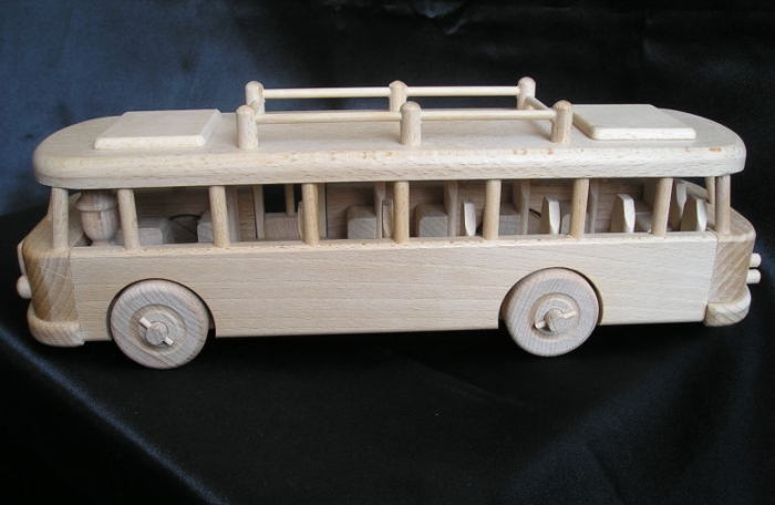 Dřevěné modely