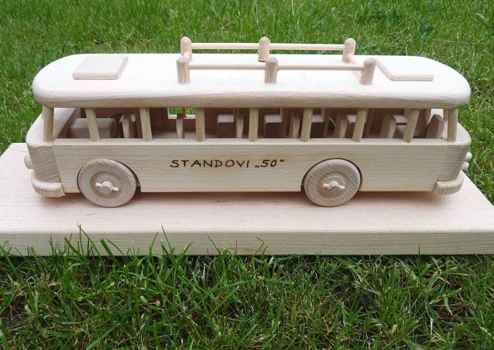 Hračky s věnováním autobus RTO