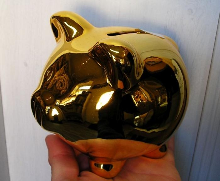 Pokladnička zlate prasátko, prase, čuně