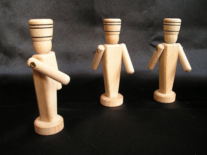 Dřevění vojáčci