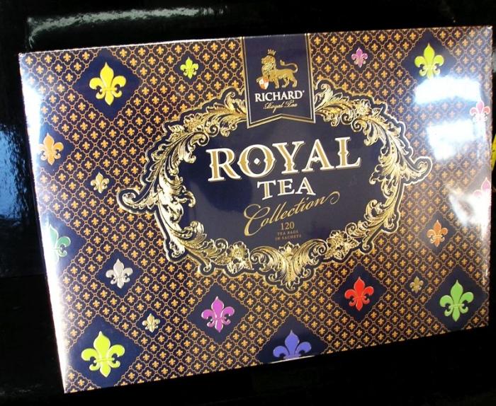 Dárkový set ROYAL čajů, černých, zelených.