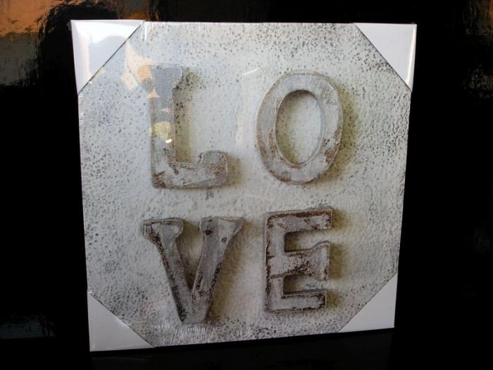 Obraz dekorace do bytu LOVE láska