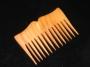 Dřevěný hřeben Dióné na vlasy