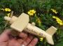Malé letadlo pro děti, dřevné