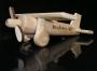 Dřevěné letadlo k narozeninám 40 let